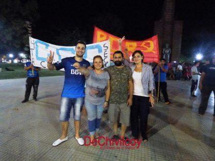 """Chivilcoy: la """"marcha de velas"""" de la oposición contra el ajuste y los tarifazos del Gobierno Nacional [Video]"""