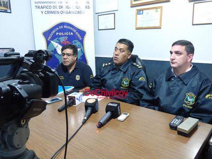 La Policía brindó detalles sobre el operativo en que se secuestraron más de 2 kilos de marihuana [Videos]