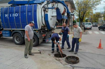 ABSA colabora con la Municipalidad en la limpieza de pluviales