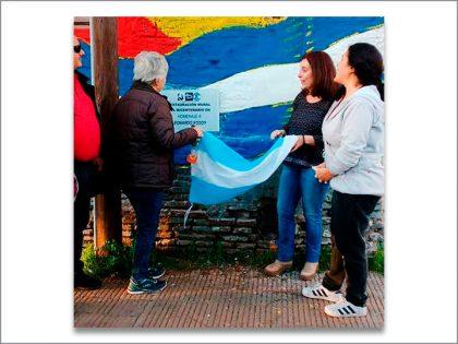 La Juventud Peronista y Los Pasos Previos restauraron el Mural del Bicentenario y recordaron a Leonardo Kosoy