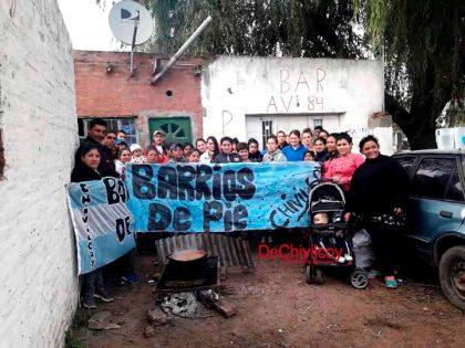 Barrios de Pie de Chivilcoy se sumará el viernes a la marcha federal