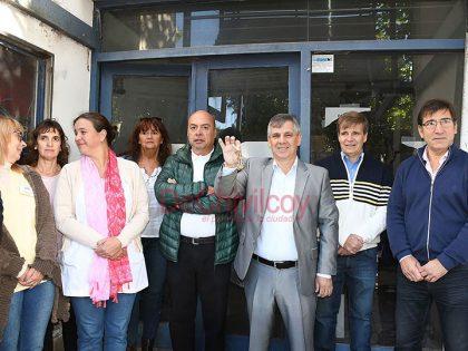 Britos firmó el llamado a licitación para la puesta en valor de la ex Clínica del Carmen