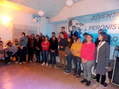 La Juventud Peronista realizó una cena a beneficio de la 22º Fiesta para los Chicos