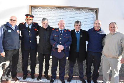 Se conmemoró el Día del Bombero Voluntario