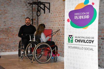 Se realizó la apertura del Gimnasio accesible e inclusivo en el SUM del Barrio Adas