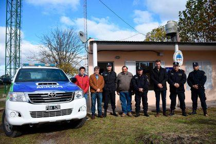 Nuevo móvil y mejoras para el destacamento policial de La Rica