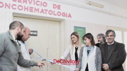 Se inauguró una nueva sala del servicio de Oncohematología [Video]