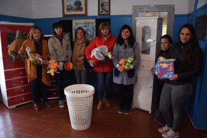 Se entregaron juguetes, materiales didácticos y mobiliario al JIRIMM Nº 11
