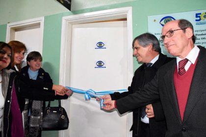 Se inauguró el Centro Oftalmológico en el Hospital Municipal