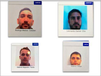 Ministerio de Seguridad: Identificaron a cuatro argentinos que agredieron a hinchas croatas tras el partido de la selección en Rusia