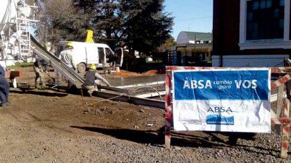 ABSA continúa con la ejecución de la obra de la Planta de Ósmosis para Chivilcoy