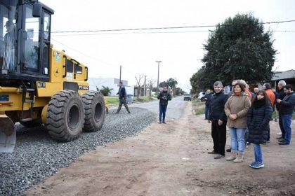 Iniciaron las tareas previas a la obra de asfalto