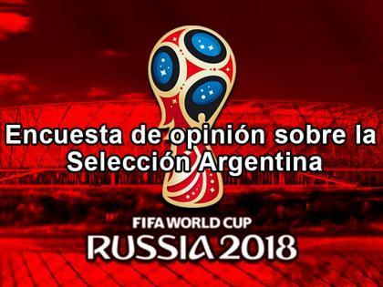 Encuesta de opinión sobre la Selección Argentina