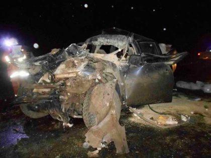 Un chivilcoyano involucrado en doble accidente en la Ruta 5 a la altura de Suipacha