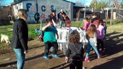 Comenzaron los festejos del Día del Niño organizados por Unión de Jóvenes por Chivilcoy