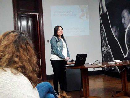 """Se realizó una charla abierta sobre """"Consejo Escolar y Educación Pública"""" en la sede del PJ"""