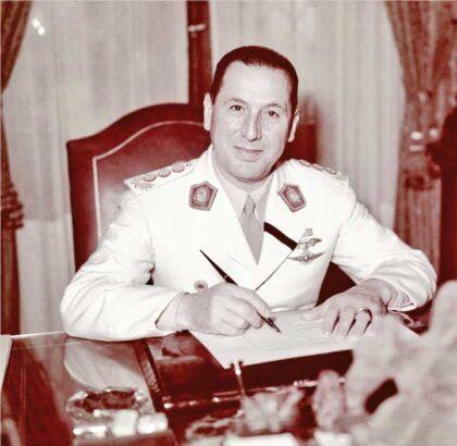 <span style='color:#f000000;font-size:14px;'>CONMEMORACIÓN</span><br>Se conmemora el nacimiento de Juan Domingo Perón