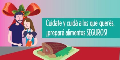<span style='color:#f000000;font-size:14px;'>SENASA INFORMA</span><br>Senasa recomienda: Festejar con las personas más queridas también exige cuidados en los alimentos