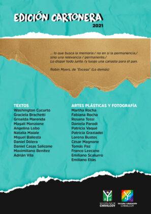 <span style='color:#f000000;font-size:14px;'>CULTURA</span><br>Séptima edición cartonera colectiva de Chivilcoy