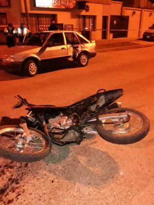 <span style='color:#f000000;font-size:14px;'>POLICIALES</span><br>Falleció el joven motociclista accidentado el sábado pasado