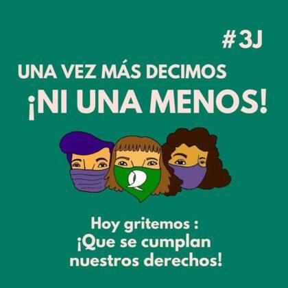 <span style='color:#f000000;font-size:14px;'>#NIUNAMENOS</span><br>Mujeres y Disidencias Chivilcoy y La Hoguera: Cronograma de actividades virtuales por #NiUnaMenos