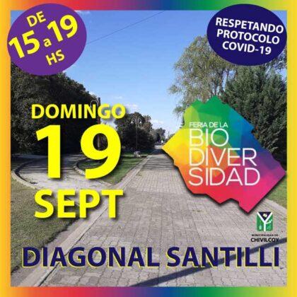 <span style='color:#f000000;font-size:14px;'>FERIA</span><br>Este domingo la Feria de la Biodiversidad se realizará en el Paseo Aurora Serio de Santilli