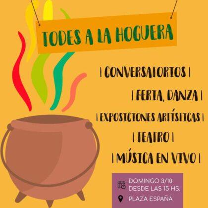 """<span style='color:#f000000;font-size:14px;'>FESTIVAL</span><br>Este domingo: Festival feminista """"Todes a La Hoguera"""""""
